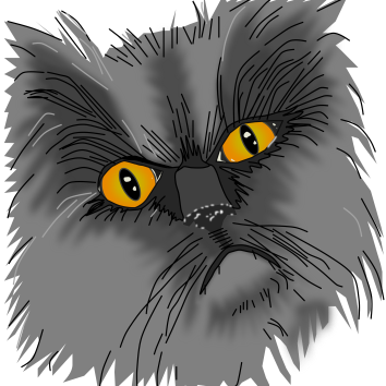 A Grumpy Cat vector