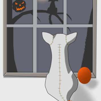Watching on Halloween