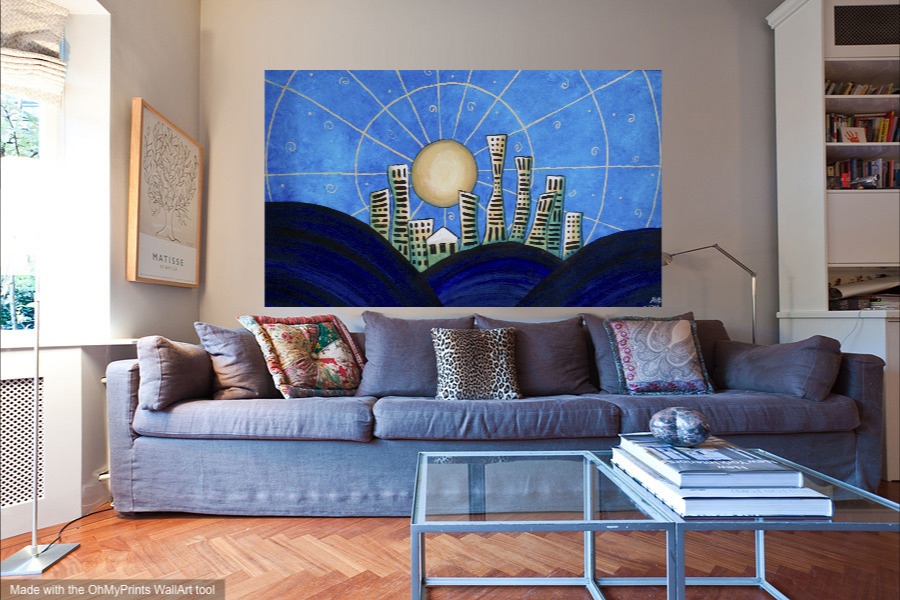 blue-city-with-furniture