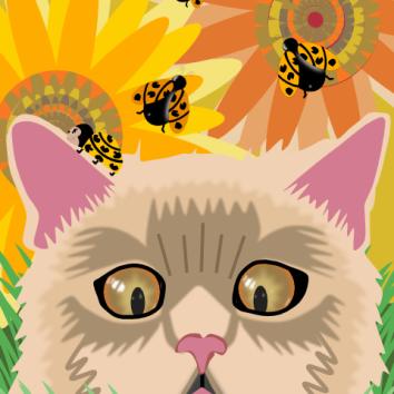 Too Many Ladybugs -Pastel