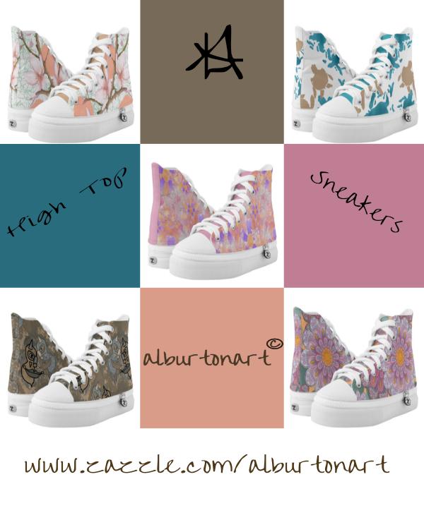 Sneakers Zazzle ad