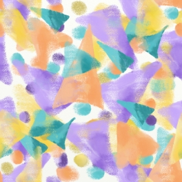 Triangles Galore pastel